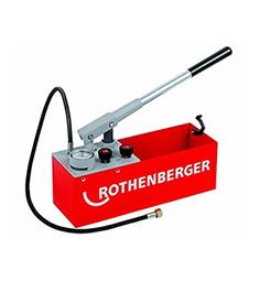 ROTHENBERGER PRESSURE TEST PUMP MANUAL