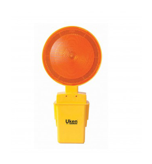 UKEN ROAD LIGHT ROUND WITH SINGLE BATTERY 2OMM