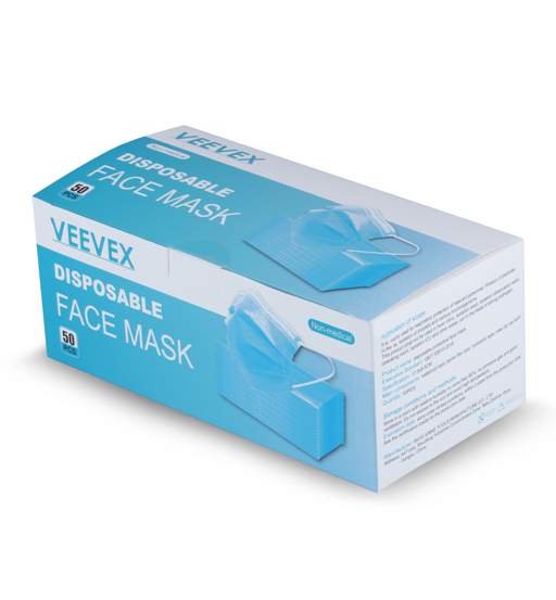 VEEVEX FACE MASK 3 LAYER