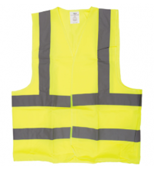SAFETY JACKET GREEN FABRIC TYPE -XL
