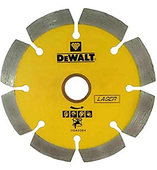 DEWALT LASER BLADES - SEGMENTED BLADE / CONCRETE - D100 X BS20/16