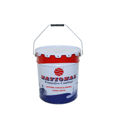 NATIONAL PAINT ENAMEL WHITE DRM