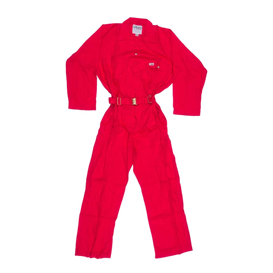 COVERALL 65/35 RED XL